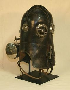 Tom Banwell—Leather and Resin Projects: Why I Make Steampunk Gas Masks Steampunk Gas Mask, Victorian Steampunk, Fire Dept, Fire Department, Fire Helmet, Steampunk Festival, Fire Equipment, Fire Apparatus, Dieselpunk