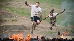 Rugged Maniac Obstacle Race Gets Crackin With Mud Sweat And