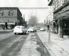 Street Scene, Northeast Corner Grand and Arsenal, St. Louis, March 23, 1955. | collections.mohistory.org