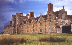 Knole: the origins of this enormous house are obscure, but it is believed that an estate has been in existence here since at least the 12th century. However, it is known that, in 1456, Thomas Bourchier (Archbishop of Canterbury) bought Knole for about £266, and set about transforming this fortress-like building into a home 'fit for the Princes of the Church'.  Henry VIII took possession of it, enlarging it  but never actually spending much time there.