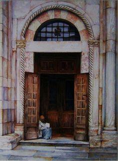 Modena,Duomo,particolare