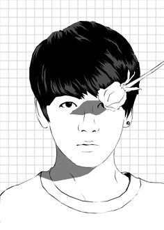 Download BTS dark and wild stencil art. #fanart | My Art in 2019 ...