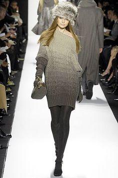 Michael Kors Collection Fall 2007 Ready-to-Wear Fashion Show - Mariya Markina