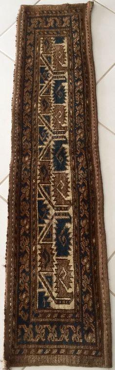 Old Tarba JOMUD Carpet 137x33 Old Oriental Rug Runner tepis Alfombra Tappeto   eBay