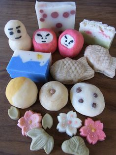 Handmade Japanese Design Soap (Looks tasty, but It is not Wagashi...awesome)