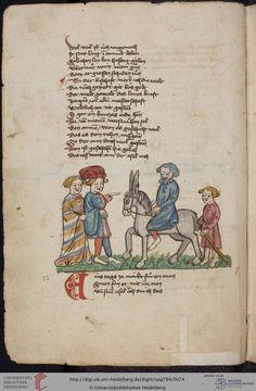 Cod. Pal. germ. 794: [Ulrich] Boner: Edelstein (Schwaben (Oberrhein? [Upper Rhine?]), um 1410/1420), Fol 34v