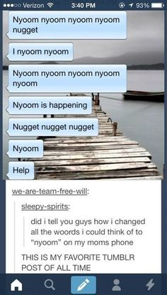 "Just the right amount of ""nyoom"": 