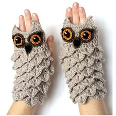 15+ Creative Mittens And Gloves That Will Keep Your Hands Warm ❤ liked on Polyvore featuring accessories, gloves and mitten gloves