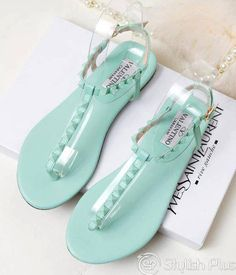 #shoes #sandals #mint
