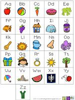 Letter chart freebie as of 7/24/13.