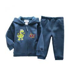 Baby boys autumn winter cotton long sleeve clothes set $26.33 cartoon boys set