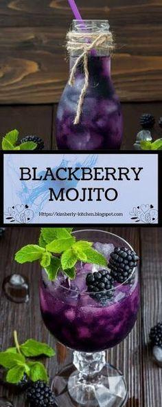 Blackberry Mojito - Blackberries - Ideas of Blackberries #Blackberries - Blackberry Mojito | A delìcìous and refreshìng blackberry mojìto cocktaìl. #BLACKBERRY #MOJITO #DRINKS