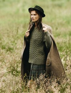 wool and tweed!