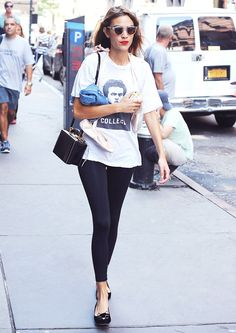 Celebrities All Wear This to Make Athleisure Look Elevated via @WhoWhatWear