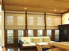 Bamboo Roller Blinds  http://www.dzineablind.co.za/VariousBlinds/BambooRollerBlinds.aspx