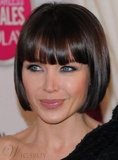57 Cool Short Bob Hairstyle With Side Swept Bands Bob Hairstyles bob hairstyles with bangs Straight Bob Haircut, Bob Haircut With Bangs, Bob Hairstyles With Bangs, Bob Haircuts For Women, Short Straight Hair, Short Bob Haircuts, Short Hair Cuts, Wig Hairstyles, Straight Hairstyles