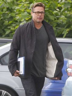 Bask In The Glow Of Brad Pitt's New Haircut