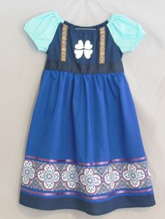Young Elsa Inspired Dress Frozen by NanasSewingCloset on Etsy, $45.00