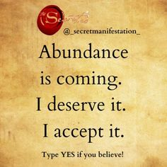 I Deserve, Attract Money, Law Of Attraction Affirmations, Law Of Attraction Quotes, Check It Out, Abundance, Swag Girls, Inspirational Quotes, Quote Board