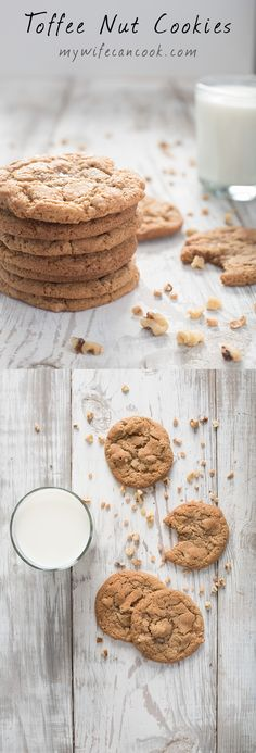 Toffee Nut cookies inspired by Panera Toffee Nut Cookies. In our house we really…
