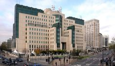 SIS (MI6) Headquarters, Vauxhall - London
