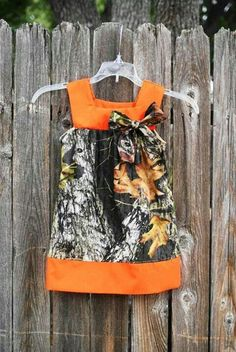 Camo girls dress