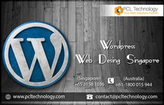 PCL Technology offers an affordable and innovative WordPress web design services basically focused on creativity to ensure the success of your business in Singapore.  Contact us at +65 3158 1036. #WordPressWebDesignSingapore