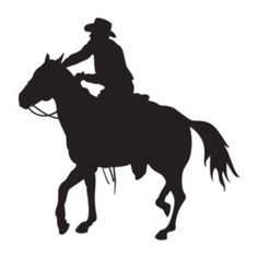 "Style and Apply Horseman Wall Decal Size: 22"" H x 24"" W, Color: Royal Blue"