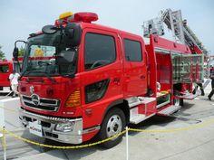 Hino Ranger Fire Truck - Japanese Trucks