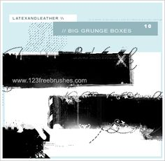 Grunge Boxes - Download  Photoshop brush https://www.123freebrushes.com/grunge-boxes-2/ , Published in #GrungeSplatter. More Free Grunge & Splatter Brushes, http://www.123freebrushes.com/free-brushes/grunge-splatter/ | #123freebrushes