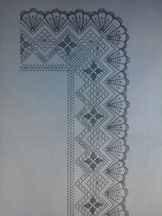 Punta. Diseño de Encarna Caparrós Santander New Crafts, Diy And Crafts, Bobbin Lacemaking, Bobbin Lace Patterns, Crochet Bedspread, Diy Headband, Lace Making, Crochet Lace, Quilling