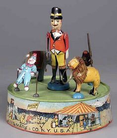 Marx Ring-A-Ling Circus. Vintage Toys, Antique Toys, Retro Toys