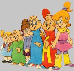 Alvin and the Chipmunks. 80s cartoons