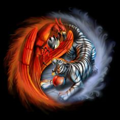 Fire and Ice by AndrewDobell on DeviantArt