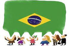A rica diversidade linguística do Brasil - PARTE 1. E aí minha gente? Como é que ocês tão?! Eu tava esses dias matutando sobre o que escrever procês...
