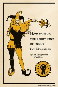 How do you avoid the soul-destroying embarrassment of being painfully NOT funny when you intended to be? Guidelines for delivering really good humorous speeches. Public Speaking Activities, Speaking Games, Funny Speeches, Middle School Ela, Learn English, Esl, Language Arts, Laughter, Have Fun