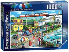 #Ravensburger holiday camp #memories #1000pc jigsaw puzzle new, View more on the LINK: http://www.zeppy.io/product/gb/2/291999353245/