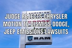 A California judge has rejected a motion to dismiss Dodge and Jeep diesel emissions cheating lawsuits filed against Chrysler. Product Liability, Jeep Grand Cherokee, In Law Suite, Cheating, Dodge, Diesel, California, Diesel Fuel