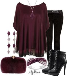 A fashion look from December 2012 featuring style poncho, Vanessa Bruno and lace-up ankle boots. Browse and shop related looks. Lou Fashion, Fashion Beauty, Fashion Looks, Womens Fashion, Fashion Today, Complete Outfits, My Outfit, Outfit Ideas, Pretty Dresses