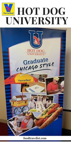 If you're an entrepreneur looking for a new adventure you might want to check out the Vienna Beef Hot Dog University. You'll learn how to start a hot dog business from either a cart or a stand from Mark Reitman the P #hotdogs #ChicagoDog #ViennaBeef