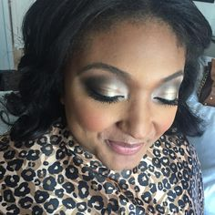 Evening makeup for a client // Candice O Beauty