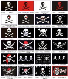 historic pirate images | Pirate Flags
