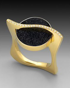 """A selection of handmade, fine jewelry I have created. Showing my proprietary """"crinkled"""" gold texture. Available for custom request and to rework old jewelry into new and fresh pieces. Modern Jewelry, Custom Jewelry, Fine Jewelry, Gold Texture, Portfolio, Druzy Ring, Artisan Jewelry, Heart Ring, Creations"""