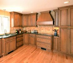 1000 Images About Kitchens Light Brown On Pinterest Chocolate Glaze Doors And Red Oak