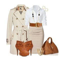 Love this business attire Business Attire, Business Outfits, Business Fashion, Business Casual, Classy Outfits, Chic Outfits, Fashion Outfits, Womens Fashion, Look Casual Otoño