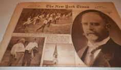 The New York Times Rotogravure Part 5 Sunday July 22, 1917 Cabinet Members