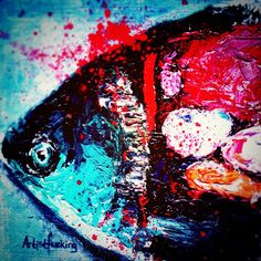 fish of my dreams by Artistfucking on DeviantArt Deviantart, Dreams, Fish, Painting, Pisces, Painting Art, Paintings, Painted Canvas, Drawings