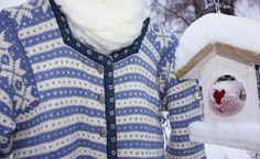Lisbeth sin lille verden: FANA-JAKKE Christmas Sweaters, Knit Crochet, Men Sweater, Knitting, Retro, Pattern, Diy, Fashion, Hobbies