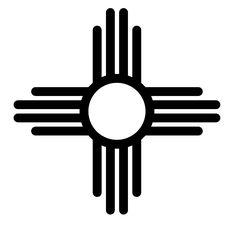 new mexico sun tattoo outline Native Symbols, Indian Symbols, Native American Symbols, Native American Design, Ancient Symbols, Native Art, Native American Indians, Native Americans, Cherokee Symbols