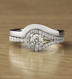Plain Wedding Band Contoured These wedding bands are contoured and